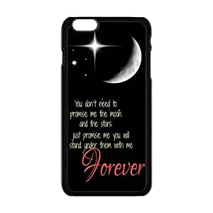 "Danny Store Hardshell Cell Phone Cover Case for New iPhone 6 Plus (5.5""), I Love You To the Moon and Back"