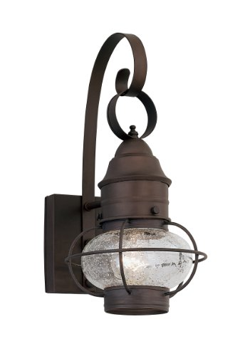 Designers Fountain 1751-RT Nantucket Wall Lanterns, Rustique by Designers Fountain