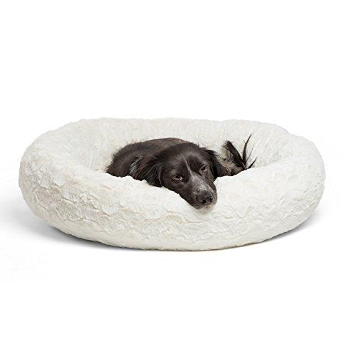 Best Friends by Sheri Luxury Faux Fur Donut Cuddler (23x23