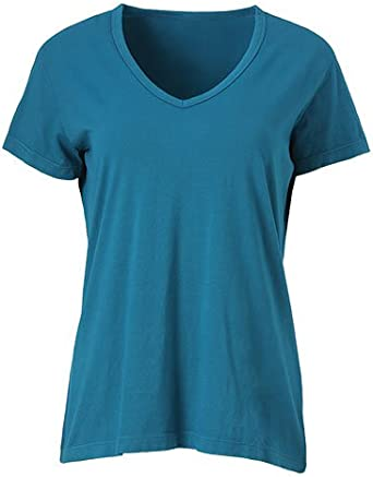 Ouray Sportswear Womens Tri-Blend Deep V-Neck Tee