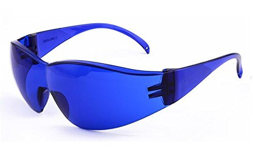 Nadalan Red Laser Protection Glasses 635- 650nm Infrared Goggles He-Ne Laser Laser Glasses Protection Mirror