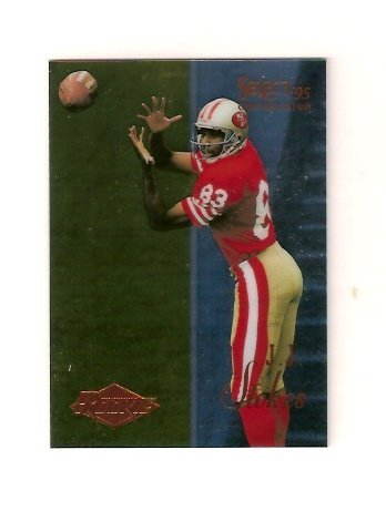 2012 Donruss Certified Football - J.J. Stokes 1995 Score Select Certified Football Rookie Card (San Francisco 49ers)