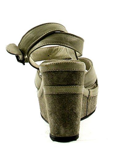 Fiorentini + Baker Skinnende Kile Sandal Sand Kvinners 11 M Oss