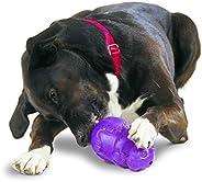 Petsafe Busy Buddy Squirrel Dude Dog Toy - Treat Dispensing, Slow Feeder Dog Toy - Large, Purple