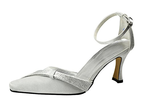 5cm 9 Minitoo White pour femme blanc Escarpins Heel xxYqvaF