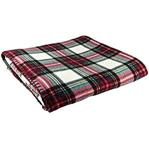 Manta de Tartan Tweeds, de lana tartán, alfombra para viajes ...