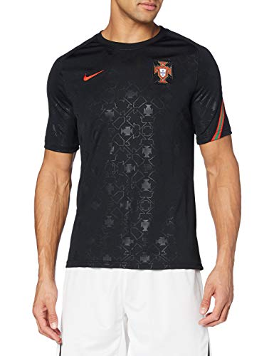 Nike Federation Portugese de Football Breathe Maillot dentrainement Black/Challenge Red/Challenge L