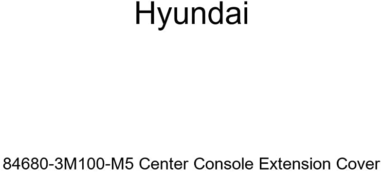 Genuine Hyundai 84685-3M100-BR Center Console Extension Cover