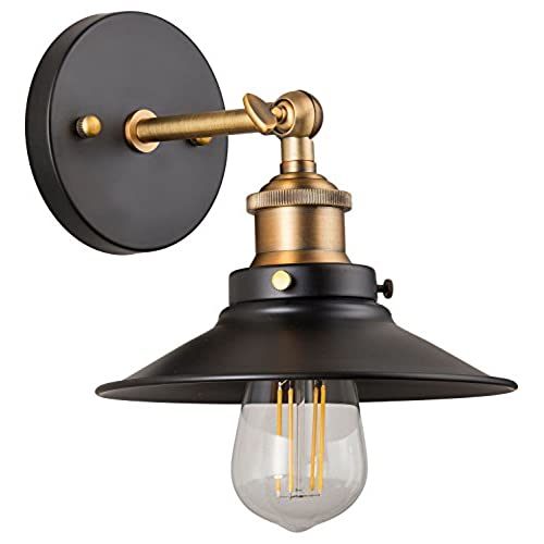 Victorian wall sconce amazon andante led industrial wall sconce fixture antique brass linea di liara ll wl407 ab aloadofball Images