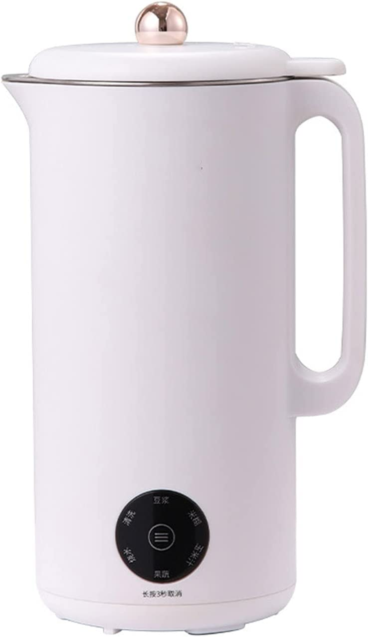 500W Smart Soymilk Machine Portable Automatic Stainless Steel Electric Juicer Blender Food Machine 350Ml Automatic Cleaning