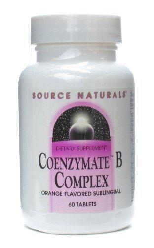 (Coenzymated B Complex Sublingual Orange Source Naturals, Inc. 60 Lozenge )
