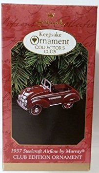 1937 Steelcraft Airflow By Murray Collectors Club Edition 1997 Hallmark Keepsake Ornament