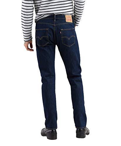 Original Bleue Bleu Levi's rinse straight Homme Jeans Fit 0115 501 vnxqCS8wq5