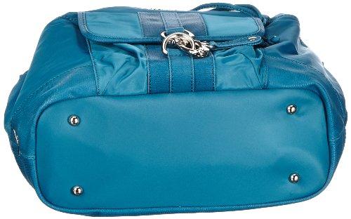 Sansibar Typhoon - Bolso de mano de material sintético mujer azul - Blau (lagoon)
