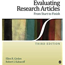 Evaluating Research Articles From Start to Finish (Volume 3)
