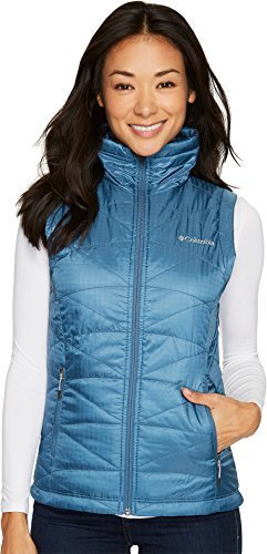 Columbia Women's Mighty Lite iii Vest, Blue Heron, Large