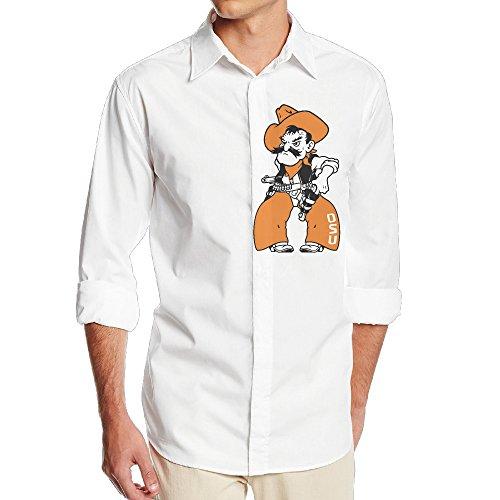 [Carina Oklahoma University Pistol Pete One Size Cool Men's Shirts M] (Baby State Trooper Costume)