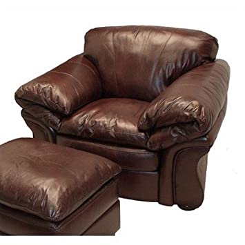 LaCrosse Furniture 8637   20 Flair Leather Chair In Hazelnut
