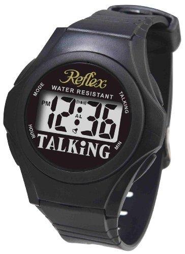 Reflex - Water Resistant Digital Display Unisex Talking Watch Talk01 by Reflex