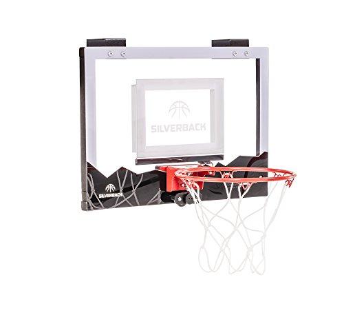 Silverback LED Mini Basketball Hoop Set, 18″