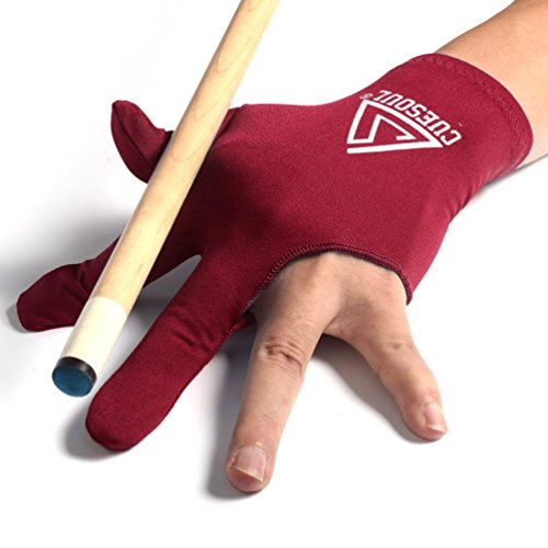 Buy Bargain CUESOUL 10pcs/set 3 Finger Billiards Gloves Pool Cue Gloves