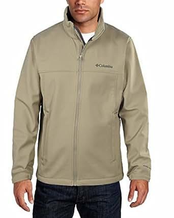 Columbia Men's Mt. Village Soft Shell Jacket, Camel, XLT/TGL