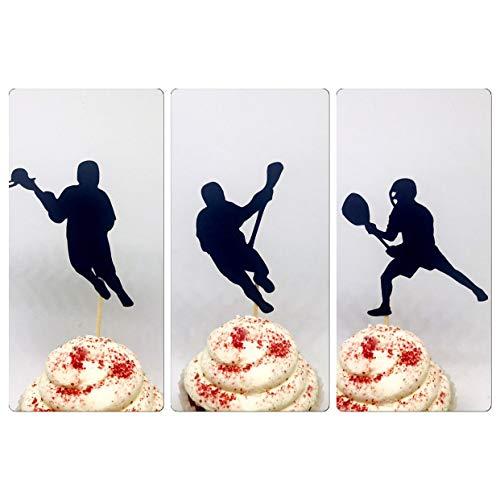 Lacrosse cupcake toppers, lacrosse cupcake topper, lacrosse party, lacrosse theme, lacrosse birthday, sports cupcake toppers, sports party]()