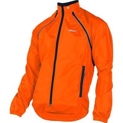 Canari Cyclewear Men's Eclipse Ii Jacket, Solar Orange, Small