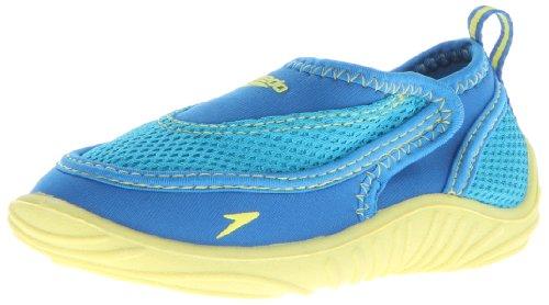 Speedo Surfwalker Pro Water Shoe (Toddler/Little Kid),Blue/Yellow,Small(US Little Kid 11-12 M)