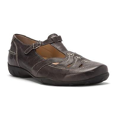 Amazon.com: Durea Kim - Womens T-Strap Flats Black: Shoes