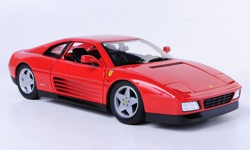 Ferrari 348 TB, rosso, modello di automobile, modello prefabbricato, Mattel 1 18 Modello esclusivamente Da Collezione