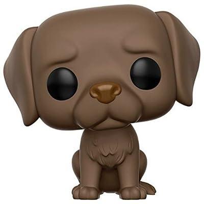 Funko POP Pets Labrador Retriever Action Figure, Chocolate: Funko Pop! Pets:: Toys & Games