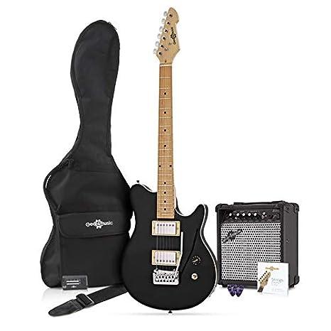 Paquete de Guitarra Electrica Santa Monica + Amplificador de 15 W ...