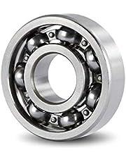 Rodamientos rígidos de bolas 6203 Teniendo 4PCS ABEC-3 Estructura especial rodamientos for motocicletas motor Cigüeñal 6203 ABIERTO rodamientos rígidos de bolas Sin Grasa 17 * 40 * 12 mm Aspectos