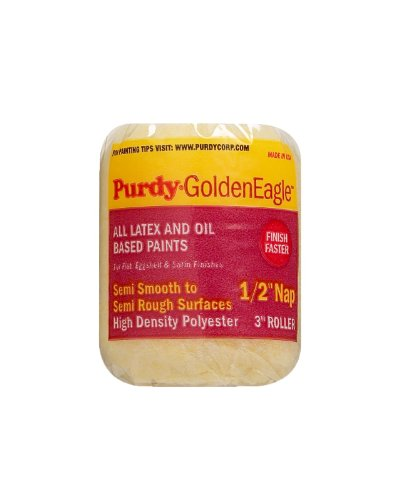(Purdy 140824603 Golden Eagle Roller Cover, 3 inch x 1/2 inch nap)