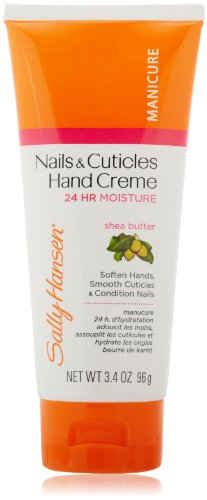 Price comparison product image Sally Hansen Radiant Hands, Nails and Cuticles Hand Cream, 3.4 Ounce (Pack of 2)