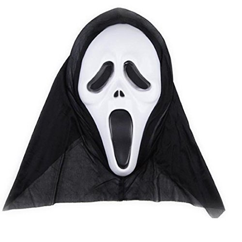 New Ghost Face Scream Mask Creepy for Halloween Masquerade Party Dress -