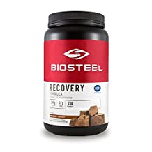BioSteel Advanced Recovery Formula - Post-Workout Nutrition - Increases Muscle Glycogen Re-Synthesis - Certified Banned Substance Free - Promotes Muscle Protein Synthesis - Gluten Free - Chocolate - 3 lbs by Biosteel