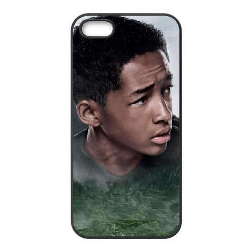 After Earth 4 coque iPhone 4 4S cellulaire cas coque de téléphone cas téléphone cellulaire noir couvercle EEEXLKNBC22789