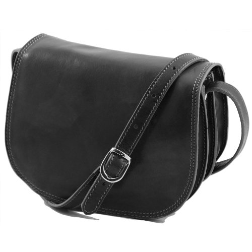 Tuscany Leather, Borsa a spalla donna Nero nero