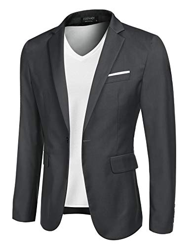 COOFANDY Men's Suit Jacket Lightweight Sport Coat Business Fashion Daily Blazer