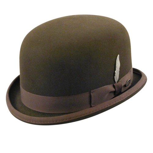 bdc043cc63b Bailey Of Hollywood Mens English Derby Hat Cordova 7 3 8  Amazon.ca   Clothing   Accessories