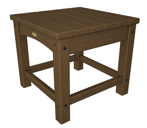 Trex Outdoor Furniture Rockport Club 18-Inch Side Table, Tree House
