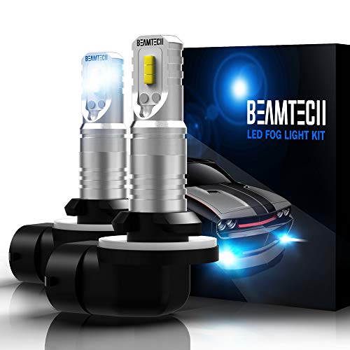 10g Light - BEAMTECH 881 Led Fog Light Bulb,886 889 894 896 CSP Chips 6500K 800 Lumens Xenon White Extremely Super Bright