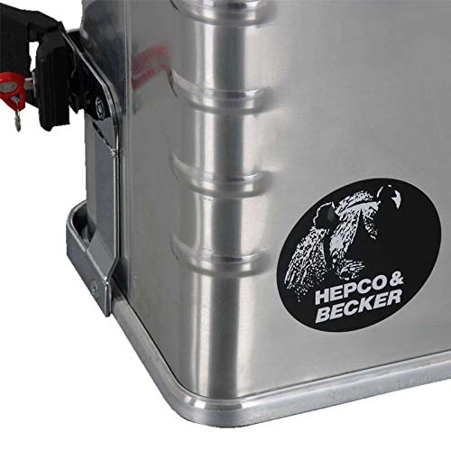 Hepco/&Becker Seitenkoffer Alu Standard 40 Links