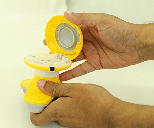 Battery hand held vibrator