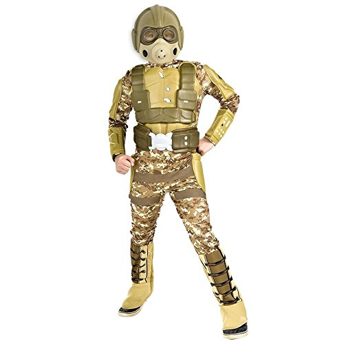 Top 10 Halloween Costumes For Boys (Rubie's Deluxe Desert Warrior Costume - Medium (8-10))