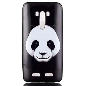 Caja del teléfono de TPU patrón de la panda de zenfone zd551kl 2 autofoto ( Modelos Compatibles : Asus Zenfone 2 )