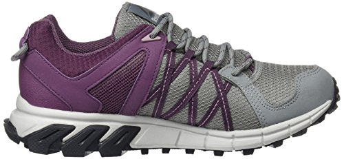 Reebok Trailgrip RS 5.0 GTX, Chaussures de Running Femme Multicolore - gris/prune (Fl Gry / Washed Plum / Smoky Orchid / Sk Gry / C)
