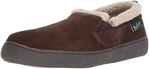 Woolrich Mens Buck Run Moccasin Chocolate